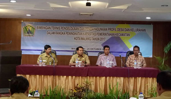 Pemkot Malang Tekankan Pentingnya Pendayagunaan Profil Kelurahan