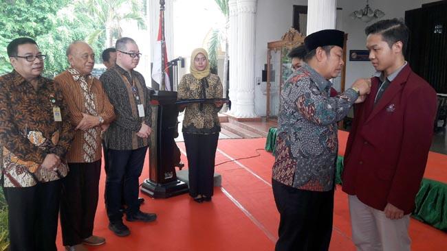 400 Mahasiswa Ciputra Surabaya Dampingi 165 UKM Sidoarjo