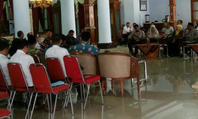 Wantimpres, Abdul Malik Fadjar saat melakukan kunjungan kerja di Kabupaten Blitar