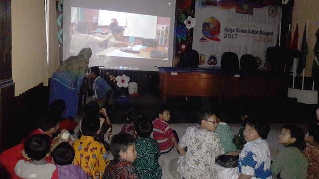 Peringati Bulan Bahasa dan Literasi, Murid SD Muhida Produksi Film-Film Indie