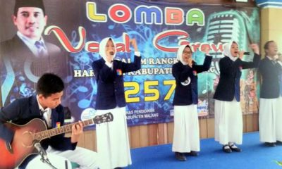 Enam Lembaga Pendidikan Lolos Lomba Vocal Group ke Pantai Ungapan