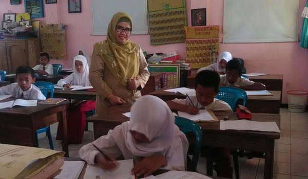 Tryout Pertama Kabupaten Malang, Latih Murid Hadapi Ujian