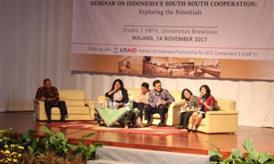Para pemateri memaparkan capaian KSS Indonesia. (rhd)