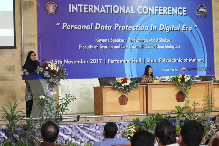 Polinema Gelar Konferensi Internasional Perlindungan Data Personal
