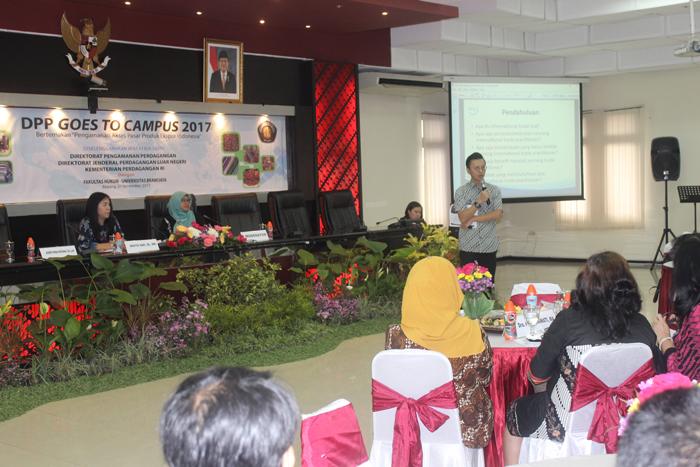 DPP Gandeng FH UB, Ajak Mahasiswa Berperan dalam Pengamanan Akses Pasar Produk Ekspor Indonesia