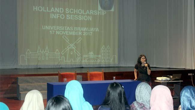 Nuffic NESO Indonesia Tawarkan Beasiswa StuNed, Ajak Mahasiswa UB Lanjutkan Kuliah di Belanda
