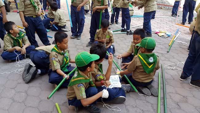 Siswa SD-MI Muhammadiyah Se-Indonesia Bersaing jadi Pandu Terbaik