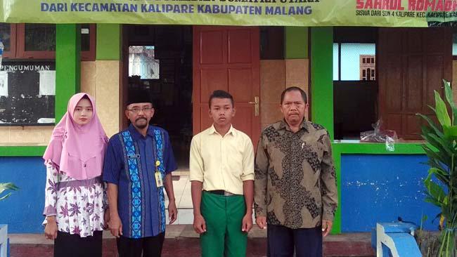 Siswa SDN Kalipare 4 sabet Emas di O2SN Nasional di Medan