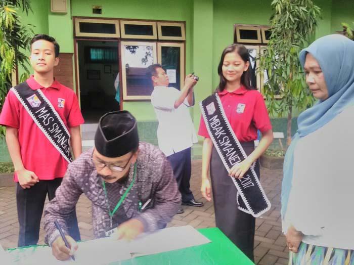 SMAN 1 Kepanjen Target Juara Lomba UKS se-Kabupaten Malang