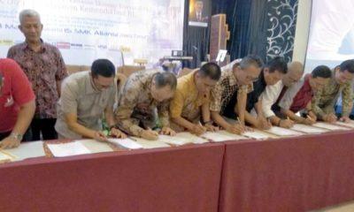 Demi Terciptanya Provinsi Vokasi, SMK PGRI 3 Pelopori Aliansi SMK MoU dengan 160 Perusahaan