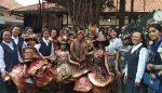 Tri Rismaharini Buka Pameran Kesenian SMP Santa Clara