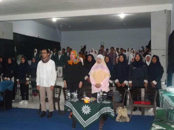 Pemeran WR Supratman Kunjungi SMK Muhammadiyah 5 Kepanjen