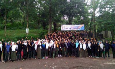 Ratusan Siswa SMK YPM 8 Sidoarjo Dilatih Kepemimpinan 3 Hari di Prigen
