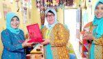 TK Negeri Pembina Penajam Kaltim Studi Banding ke TK Siti Hajar Karangploso