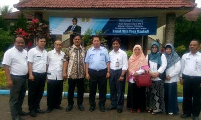 Kuliah tamu komisi 4 DPR RI dari Fraksi Partai Amanat Nasional di sambut oleh ketua STPP Malang Ir. Fat'han A. Rasyid, M.Ag.