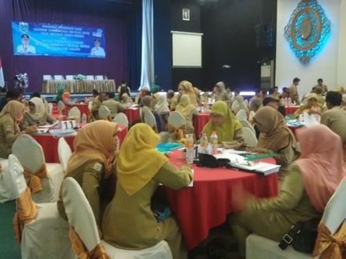 Verifikasi Dana BOS se-Kabupaten Malang untuk SD-SMP di Hotel Berbintang
