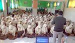 Ratusan Siswa Siswi MTs YPM 1 Wonoayu Belajar Tangkal Berita Hoaks