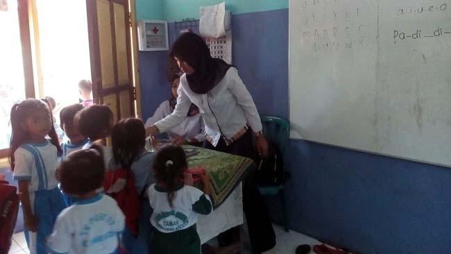 Penilik TK Berharap Pemerintah Bantu TK PGRI 7