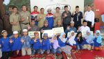PWI Malang Raya, Pertamina dan Pemkot Malang Safari Ramadhan Santuni 5 Panti Asuhan
