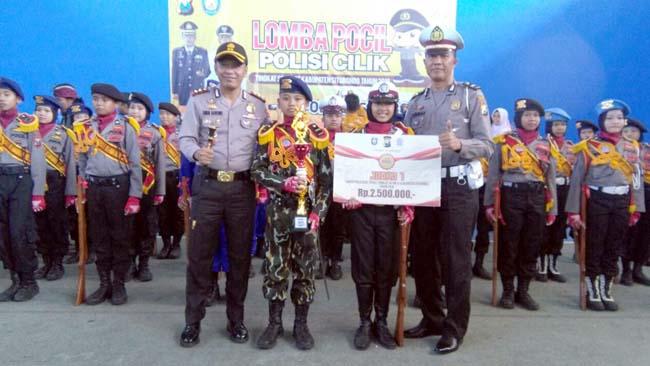 Polisi Cilik Polres Situbondo dari SDN 1 Gudang Asembagus, Juara 1 Tingkat Polda Jatim