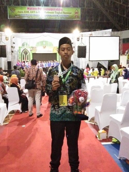 Rofiqul Huda, Sabet Juara IX KSM 2018 di Bengkulu
