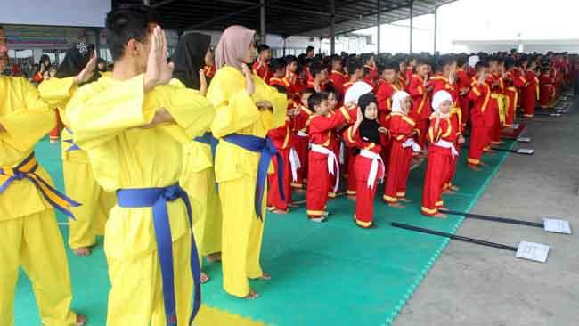 1.234 Peserta Ikuti Invitasi Tapak Suci Skariga 2018 se-Jawa Timur