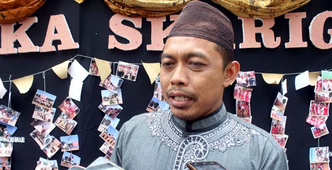 Ketua Panitia Abdul Kholik. (rhd)