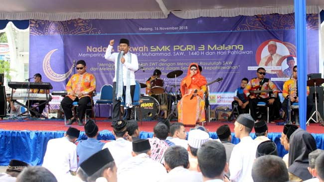 Peringati Maulid, SMK PGRI 3 Ajarkan Ketauladanan Nabi Muhammad SAW
