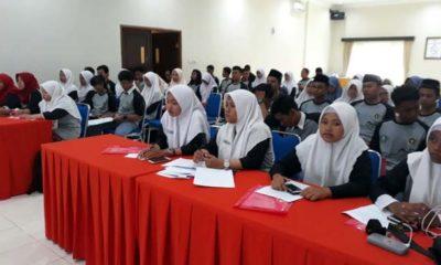 Puluhan Pelajar SMASMK Antusias Ramaikan Bengkel Jurnalistik PWI Sidoarjo