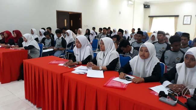 Puluhan Pelajar SMA/SMK Antusias Ramaikan Bengkel Jurnalistik PWI Sidoarjo