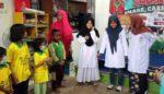 Siswa SD Al Muslim Peringatan Hari Anak Sedunia Bersama Penderita Kanker