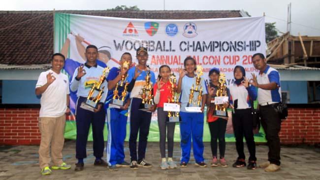 Para pemenang 1st Annual Woodball Championship Falcon Cup 2018