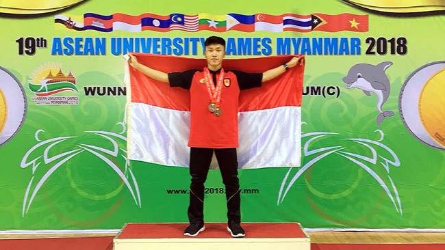 Mahasiswa FIK UM Raih Medali AUG 19th Myanmar