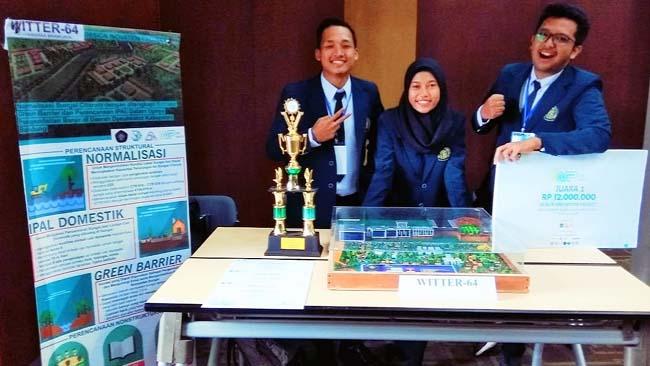 Tim Witter-64 FT-UB Raih Juara 1 Design Innovation Project 2018