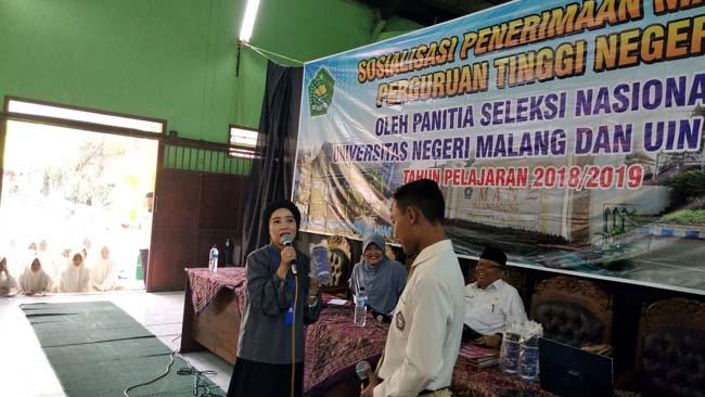 UM Sosialisasikan SNMPTN/SBMPTN di Tulungagung