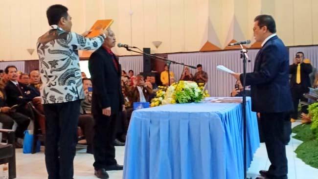 Dr Ir Kustamar MT, Resmi Pimpin ITN Periode 2019-2023
