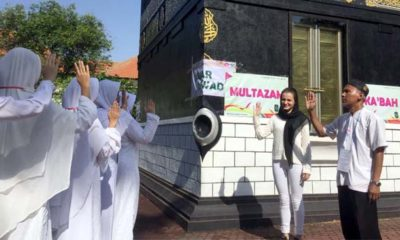 Gelar Manasik Haji, Smamda Ajak Siswa Asing