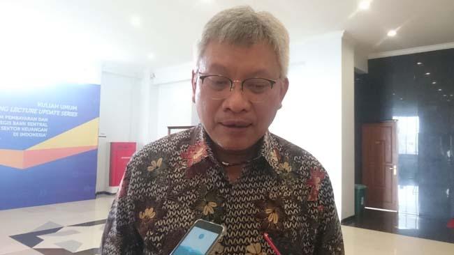 Kepala Perwakilan BI Propinsi Jawa Timur, Difi Ahmad Johansyah. (rhd)