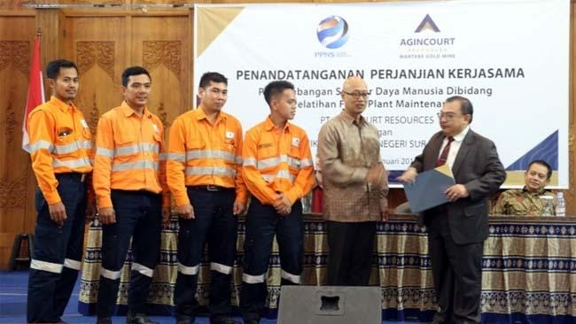 Perusahaan Tambang Emas Percayakan Pelatihan Karyawan di PPNS