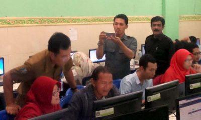 Puluhan SMK Swasta di Sidoarjo Siap USBN Gunakan Android