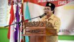 Wakil Bupati Jember Kukuhkan Sako pramuka SPN Cabang Jember