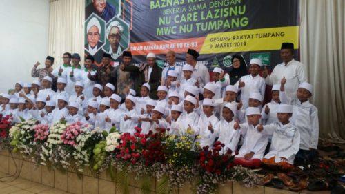Donasi Ku Alfamart Khitankan 43 Anak,  Dihadiri Plt Bupati Malang