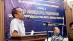 Kasek SMPN se-Ponorogo Gelar Kunjungan ke MKKS SMPN Lamongan