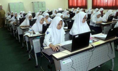 Pelaksanaan USBN MTsN 1 Kota Malang Lancar & Kondusif
