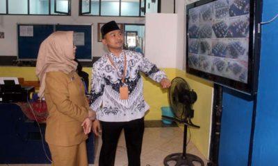 Hari Pertama UNBK SMK Kota Malang - Batu Kondusif