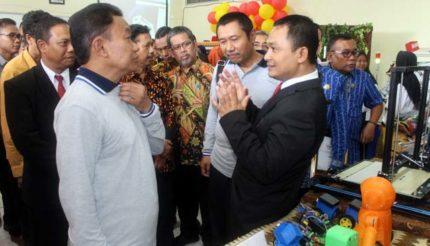 Dirjen Dikdasmen Jadikan SMK PGRI 3 Malang Percontohan SMK Nasional