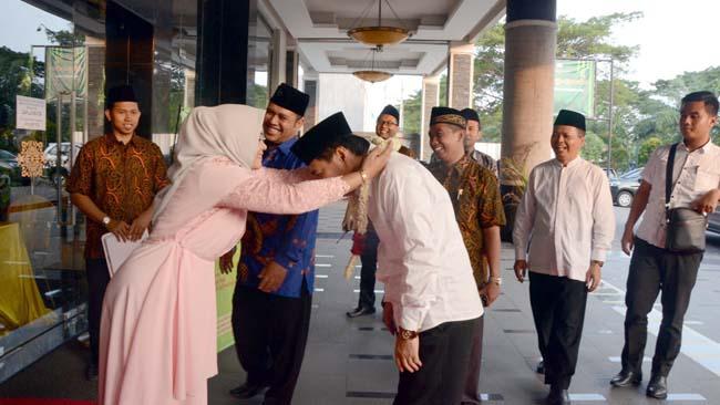 Sekolah Muslimat NU Pucang Sidoarjo Launching Pembelajaran Alumni Berakhlak