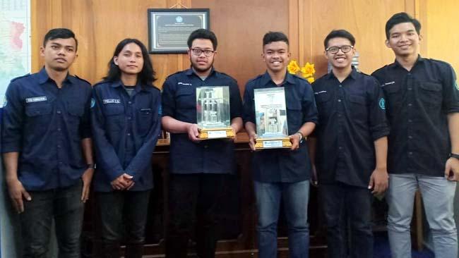 ITN Raih Juara 1 dan 2 LKTB 2019