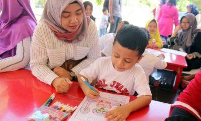 Akhir Tahun Ajaran, KB-TK Al Muslim Gelar Parenting dan Berbagai Lomba