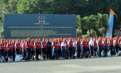 Sebanyak 787 siswa SMK PGRI 3 Ikuti Pembekalan Prakerin. (rhd)